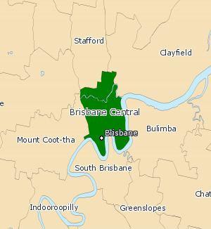 Electoral district of Brisbane Central