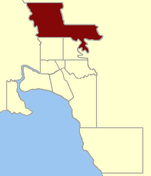 Electoral district of East Bourke Boroughs