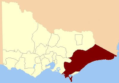 Electoral district of Gippsland