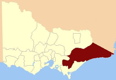 Electoral district of Gippsland North