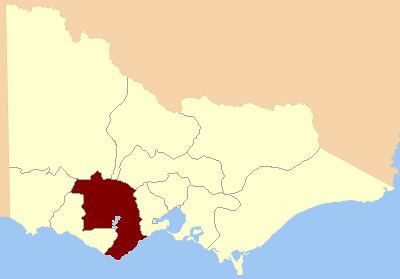 Electoral district of Ripon, Hampden, Grenville and Polwarth