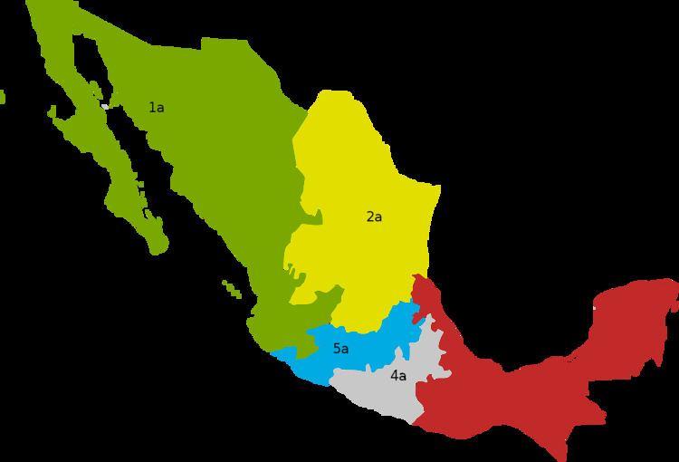 Electoral regions of Mexico