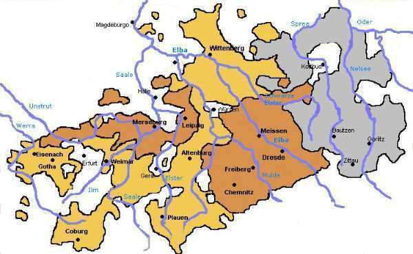 Electorate of Saxony Historic Realms The Electorate of Saxony Quiz 10 Questions