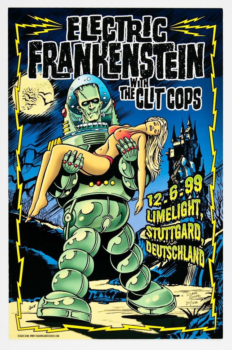 Electric Frankenstein CUT FROM THE INSIDE by ELECTRIC FRANKENSTEIN rockandrolljunkiecom