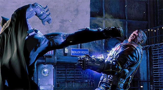 Electrocutioner Defeat Electrocutioner Main storyline Batman Arkham Origins