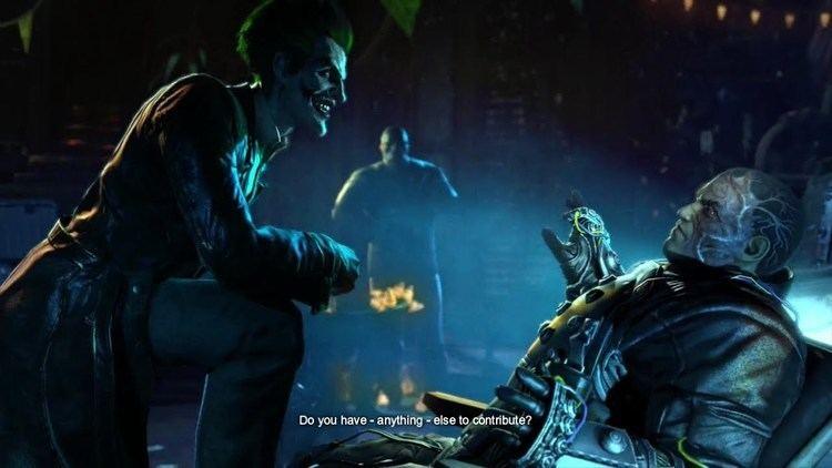 Electrocutioner Batman Arkham Origins Electrocutioner Death Scene YouTube