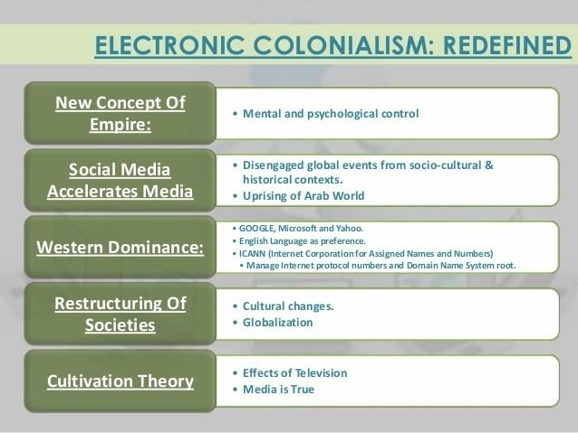 Electronic colonialism httpsimageslidesharecdncomelectroniccolonial