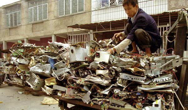 Electronic waste in Guiyu Electronic Waste Dump of the World Guiyu China Sometimes Interesting