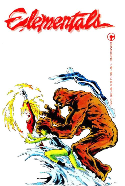Elementals (Comico Comics) Comico and Elementals to be Resurrected CO2 COMICS BLOG