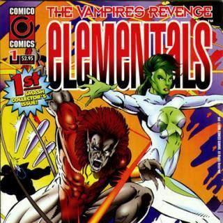 Elementals (Comico Comics) Elementals Team Comic Vine