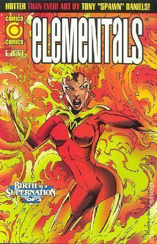 Elementals (Comico Comics) Elementals 1995 3rd series Comico comic books