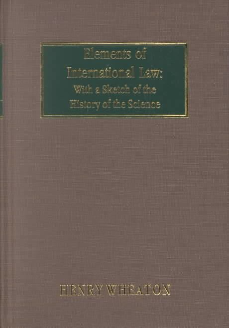 Elements of International Law t0gstaticcomimagesqtbnANd9GcQYJsREad431IJLtf