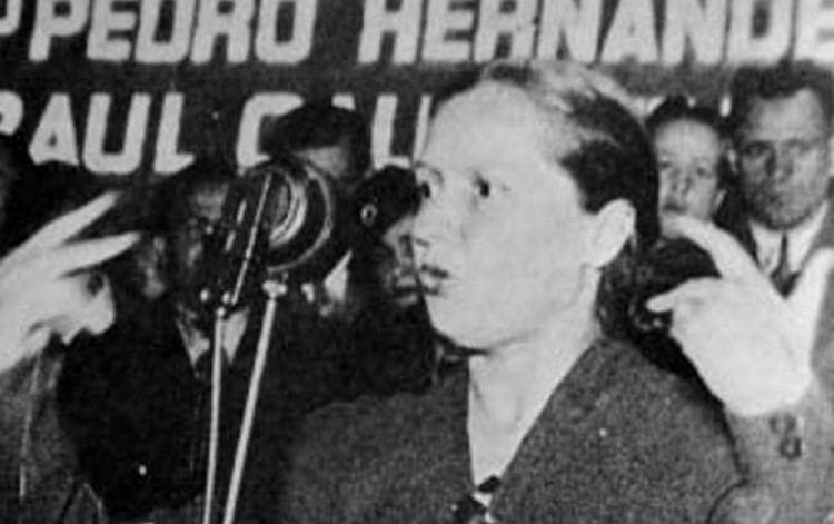 Elena Caffarena Elena Caffarena apasionada por los derechos femeninos