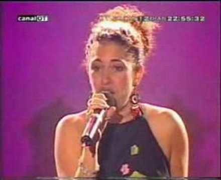 Elena Gadel Elena Gadel La Rosa Palau Sant Jordi GiraGeneracion OT YouTube