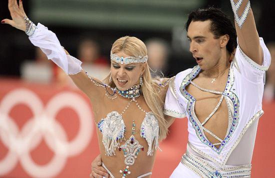 Elena Grushina Elena Grushina and Ruslan Goncharov Turin 2006 Olympic