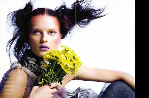 Elena Melnik Elena Melnik fashion model Russian Personalities