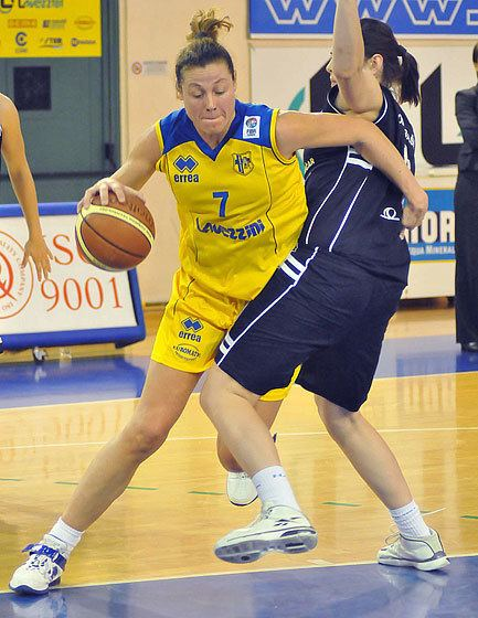 Elena Paparazzo Elena Paparazzo EuroLeague Women 2001 FIBA Europe