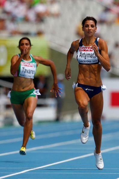 Eleni Artymata Eleni Artymata Photos 20th European Athletics