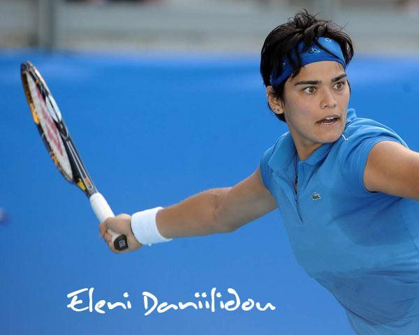 Eleni Daniilidou Eleni Daniilidou Greek tennis player from Crete