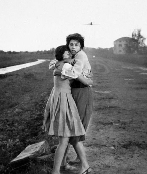 Eleonora Brown Sophia Loren amp Eleonora Brown in Two Women 1960 Old