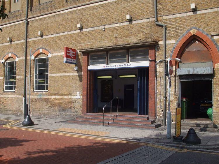 Elephant & Castle railway station