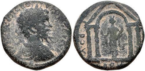 Eleutheropolis Palestine Eleutheropolis Ancient Greek Coins WildWindscom