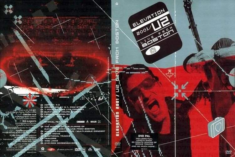 Elevation 2001: Live from Boston DVD U2 ELEVATION TOUR EDIO AMERICANA YouTube