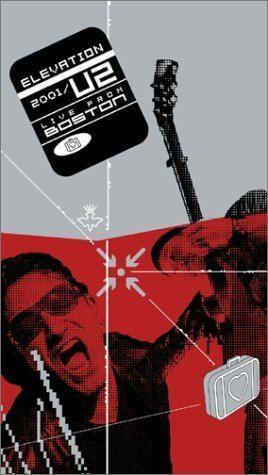 Elevation 2001: Live from Boston Amazoncom U2 Elevation Tour 2001 Live from Boston VHS Bono