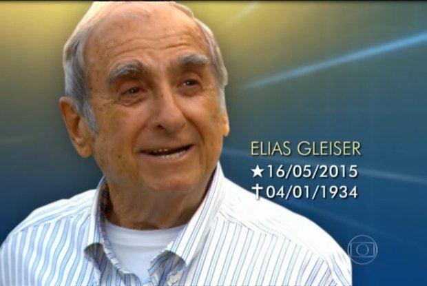 Elias Gleizer Jornal Nacional39 comete duas gafes ao noticiar morte de