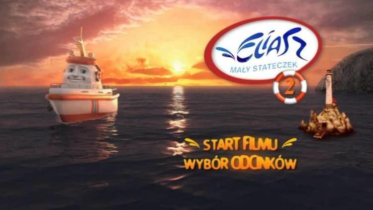 Elias: The Little Rescue Boat Eliasz May stateczek Elias The Little Rescue Boat DVD Menu