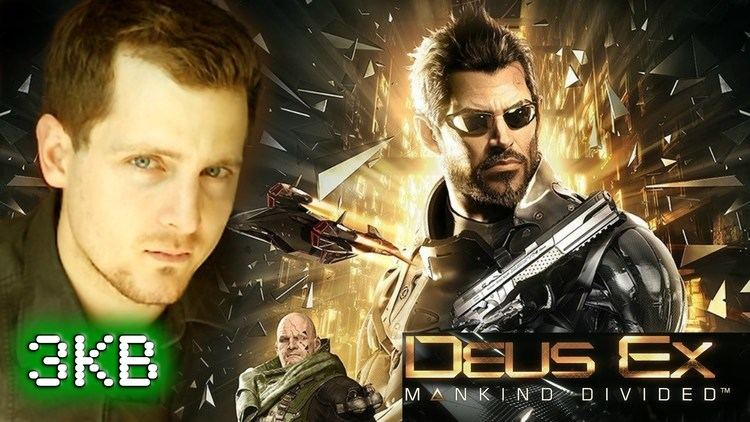 Elias Toufexis Elias Toufexis On Deus Ex Mankind Divided JKB YouTube