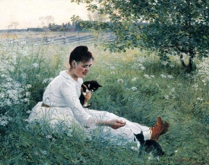 Elin Danielson-Gambogi Modern Artist Elin DanielsonGambogi Finnish 18611919