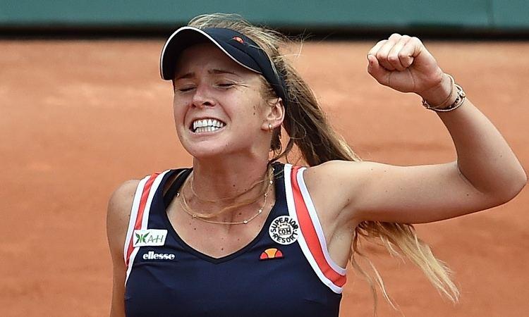Elina Svitolina Aliz Cornet finally flags against Elina Svitolina in