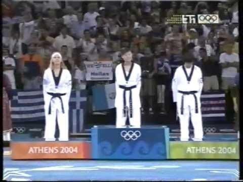 Elisavet Mystakidou Athens 2004 Olympic Games Elisavet Mystakidou Taekwondo Womens