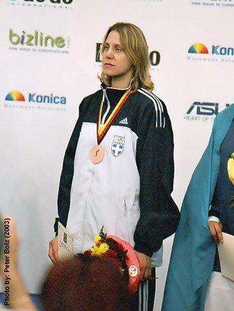 Elisavet Mystakidou wwwtaekwondodatacomimagespersons4504709010