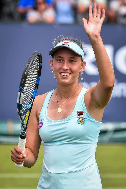 Elise Mertens Elise Mertens stoomt door naar kwartfinale in Rosmalen HLNbe