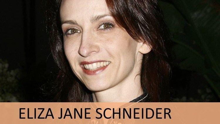 Eliza Schneider Eliza Jane Schneider YouTube