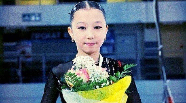 Elizabet Tursynbayeva Figure skating Young figure skater from Kazakhstan wins tournament