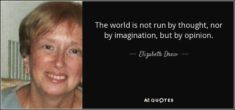 Elizabeth Drew TOP 16 QUOTES BY ELIZABETH DREW AZ Quotes
