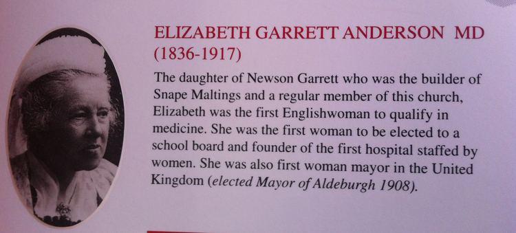 Elizabeth Garrett Anderson Elizabeth Garrett Anderson Mayor of Aldeburgh Parliament and
