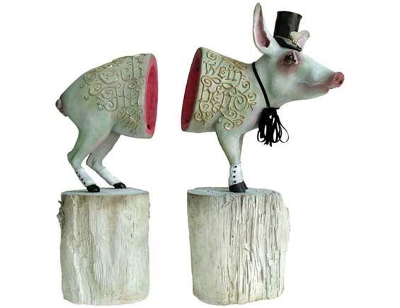 Elizabeth McGrath Elizabeth McGrath39s Endearingly Twisted Animal Sculptures