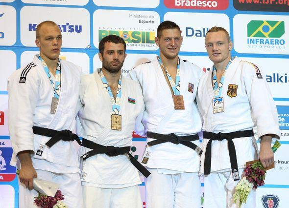Elkhan Mammadov (judoka) Riner and Mammadov claim World titles European Judo Union