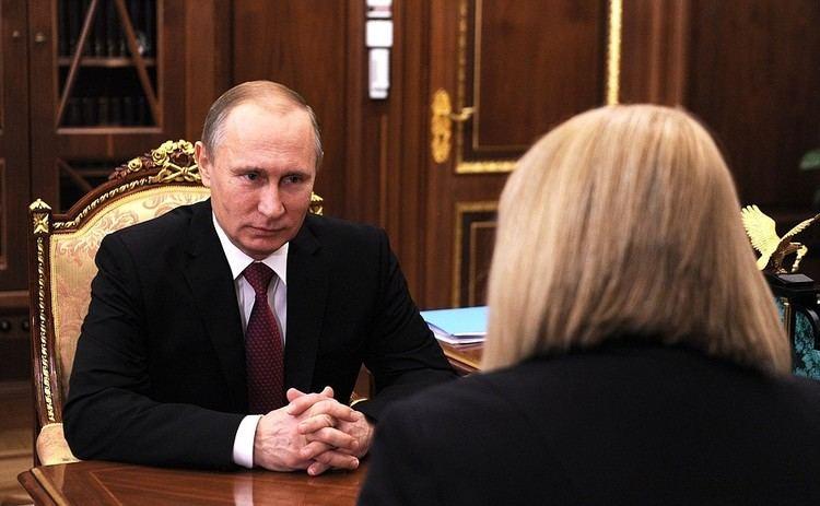 Ella Pamfilova Meeting with Russian Human Rights Commissioner Ella Pamfilova