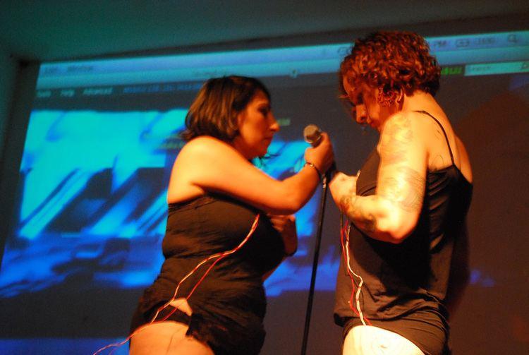 Elle Mehrmand Micha Crdenas and Elle Mehrmand