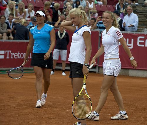 Ellen Allgurin Sofia Arvidsson Ellen Allgurin amp Caroline Wozniacki