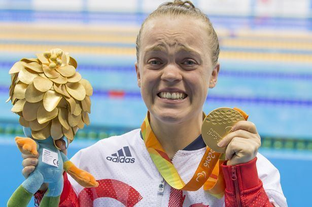 Ellie Simmonds Swimming star Ellie Simmonds record breaking win kicks off Brit