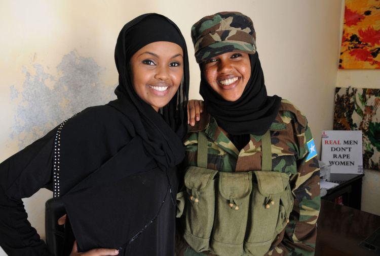 Elman Ali Ahmed Canadian sisters on front lines of rebuilding Somalia