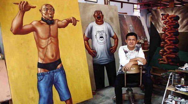 Elmer Borlongan How Zambales has changed Elmer Borlongan39s art Inquirer