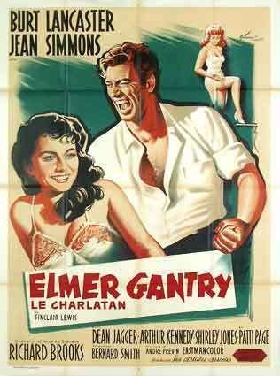 Elmer Gantry (film) Movie Lovers Reviews Elmer Gantry 1960 Jean Simmons Burt