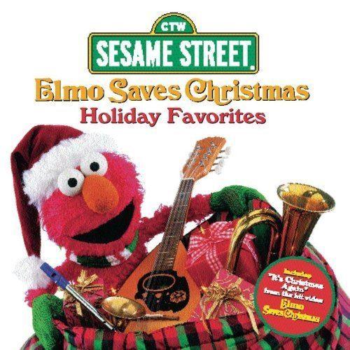 Elmo Saves Christmas Sesame Street Elmo Saves Christmas Amazoncom Music